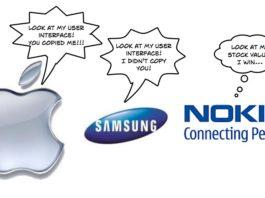 Apple sues Nokia sues Apple