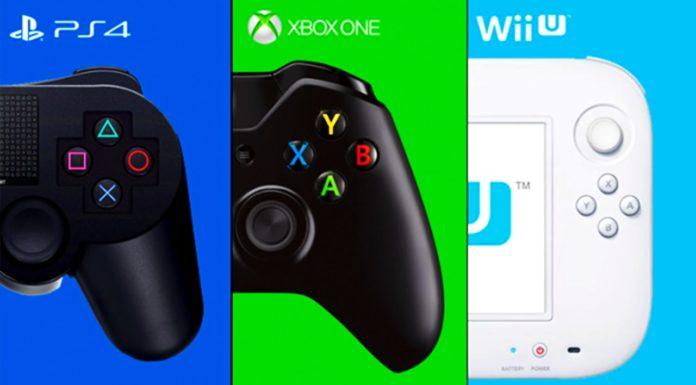 Lifetime sales - Microsoft Xbox One, Sony PS4 and Nintendo Wii U