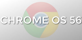 Chrome OS 56 release date January 31, 2017