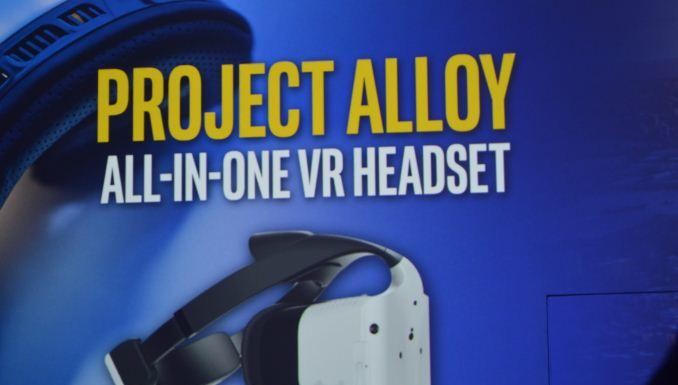 Intel VR headset - all-in-one