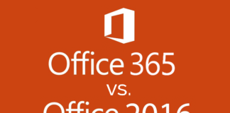 Office 365 vs. Office 2016