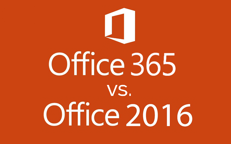 5 differences between office 365 and office 2016 driving - Difference between office professional and professional plus ...