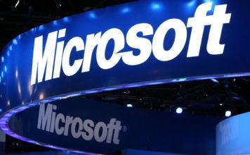 Microsoft name board