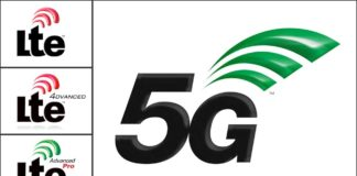 Logo for 5G wireless communication technology