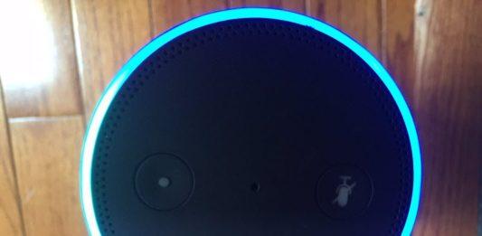 Amazon Echo light ring