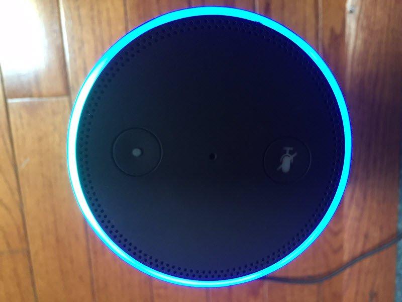 Amazon Echo Turn Of Light Ring