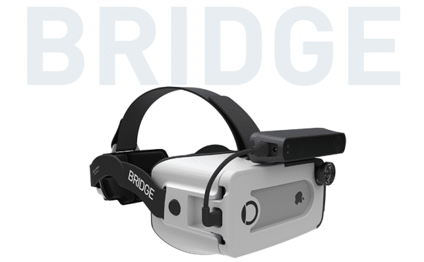 Bridge by Occipital, a mixed reality VR headet