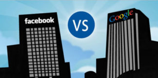 Google and Facebook advertising revenue growth