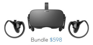 Oculus Rift with Touch now retailing at $598 as a bundle