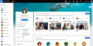 Profile cards rolling out to Office 365 users
