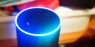 amazon alexa on amazon echo smart speaker