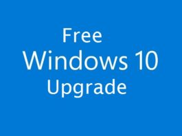 Free Windows 10 Upgrade April