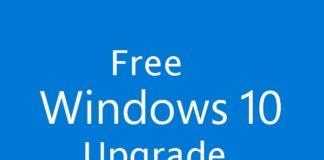 Free Windows 10 Upgrade April