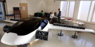 Lilium Jet with Tesla Battery