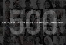 LinkedIn 500 million members Dynamics 365