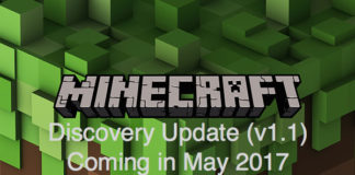 Minecraft Discovery Update 1.1 coming in May
