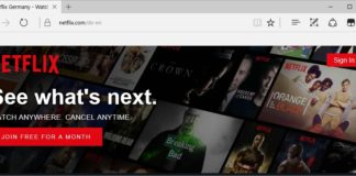 Netflix 4K Video Streaming on Microsoft Edge on Windows 10 Creators Update