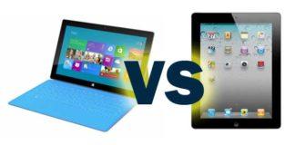 Surface Pro 5 vs iPad Pro
