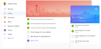 Microsoft To-Do task management app for Office 365