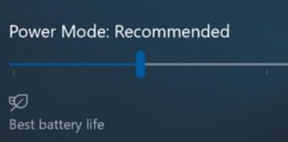 Windows 10 Redstone 3 brings Power Slider for Improved Battery Life