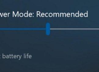 Windows 10 Redstone 3 brings Power Slider for Improved Battery Life