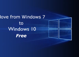 Windows 7 to Windows 10 Creators Update free