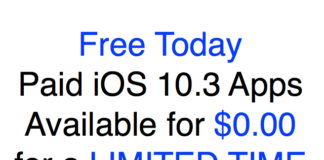 iOS 10.3 apps for free today