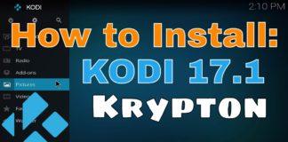 No jailbreak required to Install Kodi 17.1 Krypton on iOS 10 iPhone and iPad
