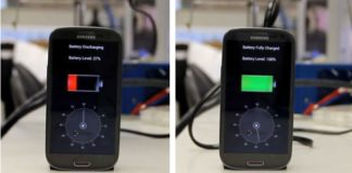 StoreDot smartphone battery charges to full in 5 minutes