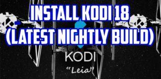 iOS 10.3 Kodi 18 Leia Alpha Build