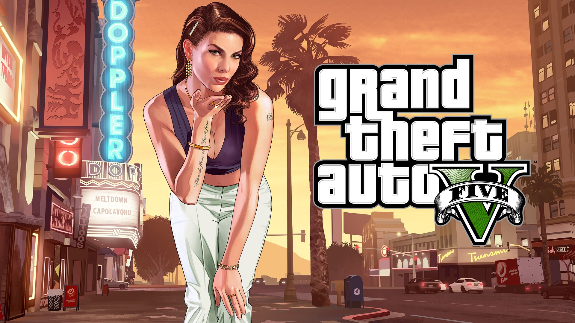Download image gta5 pc android iphone and ipad wallpapers and - No Jailbreak Required Grand Theft Auto 5 Gtav For Ios Sideload Ipa File To Iphone And Ipad