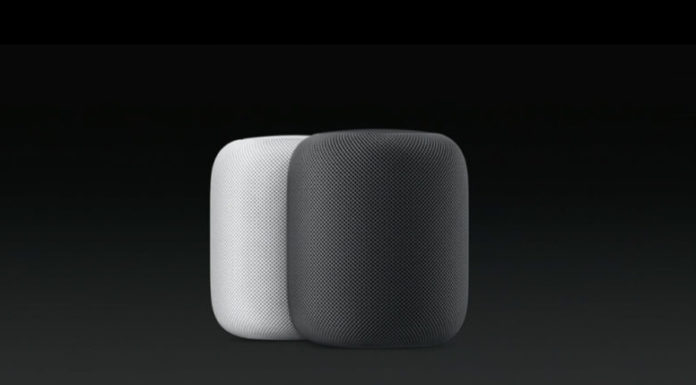 Apple HomePod Amazon Echo Google Home smart speakers