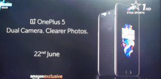 OnePlus 5 India