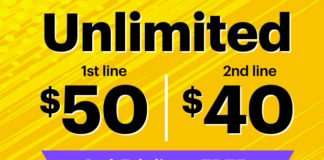 Sprint Unlimited five lines