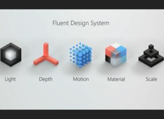 Windows 10 Fluent Design System