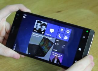 Windows 10 Mobile CShell Continuum