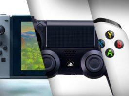 Xbox One X Sony PS4 Pro Nintendo Switch