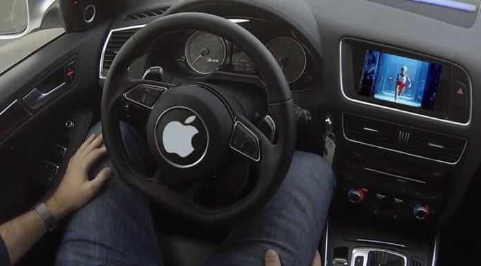 autonomous vehicle tests Apple Inc