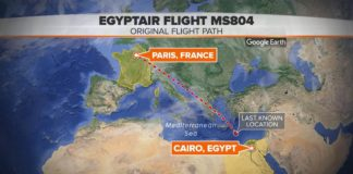 iPhone 6s or iPad Mini 4 fire may have caused EgyptAir flight MS804 crash in May 2016