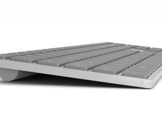 Modern Keyboard with Fingerprint ID