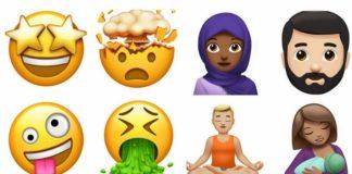 Apple new emojis iOS 11