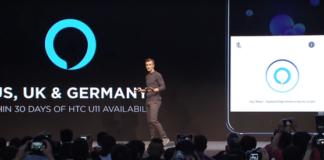 HTC U11 with Alexa