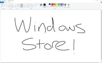 MS Paint coming to Windows Store