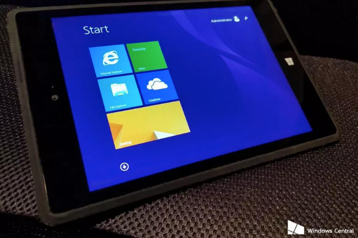 This is Microsoft's cancelled Surface Mini