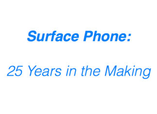 Surface Phone: 25 years in the making and a slew of dead mobile OSes in its wake