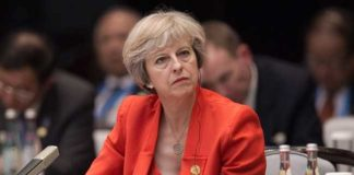 Theresa May wants to fine Google, Facebook and others for extremist content