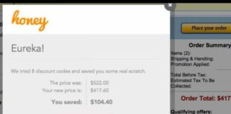 Google Chrome extension for saving money