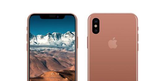 Apple Blush Gold iPhone 8