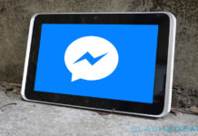 Facebook Aloha video chat tablet
