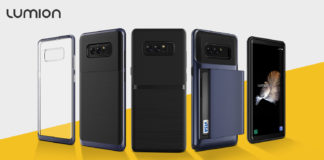 Galaxy Note 8 Lumion Cases